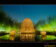 _1(Night view of Taipei International Flora Exposition) (nans0410) Tags: taiwan taipei     colorphotoaward  mygearandme mygearandmepremium mygearandmebronze mygearandmesilver mygearandmegold mygearandmeplatinum mygearandmediamond taipeiinternationalfloraexposition