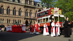Chester Palm Sunday Procession (cathedralchoir) Tags: choir townhall omnibus palmsunday jcandsec