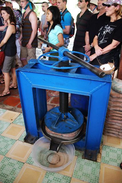 椰子压榨机
