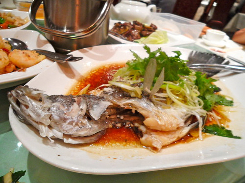 Emperor's Steamed Fish