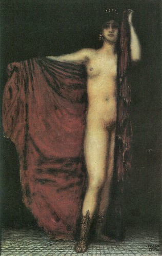 Phyrne by Franz von Stuck