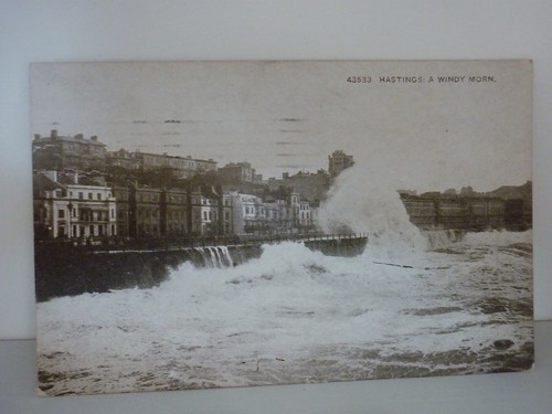Vintage postcard of Hastings