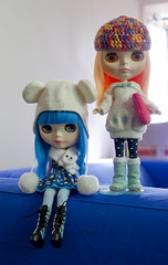 SSS & IR (air-doll) Tags: blue hair doll blythe simply sparkly spark sss fbl