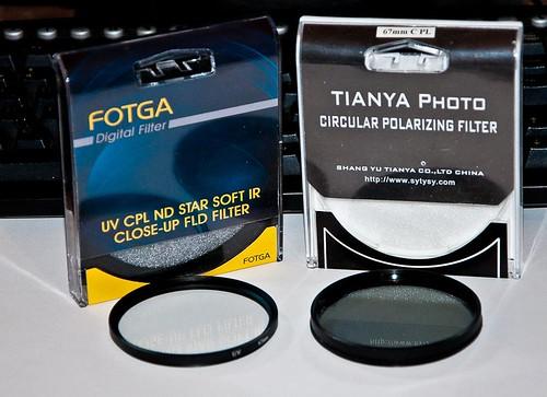 Filtros UV y Polarizador