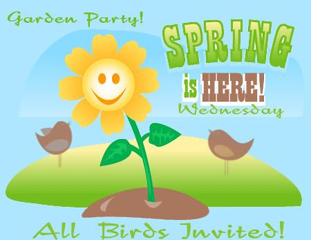 Garden Party invite