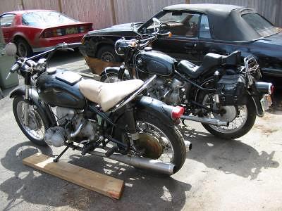 1962, 1959 BMW R series