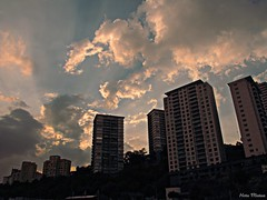 Cielo de Santa Fe (Hotu Matua) Tags: sky cloud santafe df cu cielo nuage nuvem federal nube distrito