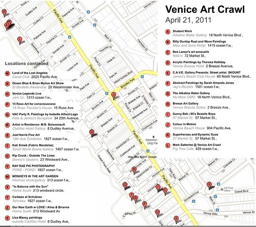 Venice Art Crawl 4-21-11