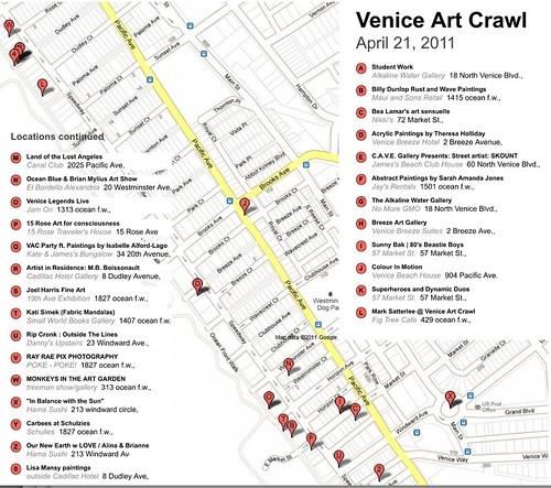 Venice Art Crawl 4-21-11