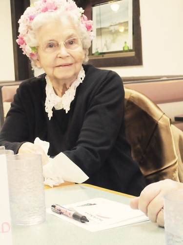 . pretty grandma .
