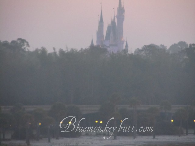 Dawn over Cinderella Castle