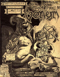 04/23/85 Venom/Slayer/Dark Angel @ Pamona Valley Auditorium, Pamona, CA