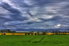 Landscape Field @ EIDW HDR (EI-RJD) Tags: sky field raw planes pilot copilot landscapephotography ryandawson hdrphotography canoneos450d eirjd