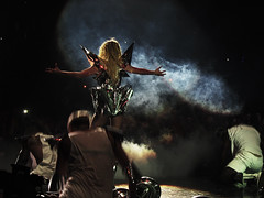 Lady GaGa - Monster Ball Tour @ Newark, NJ (lecarlos) Tags: show music monster lights dance blood concert tour live nj pop cannon april newark frontrow prudentialcenter s90 2011 monsterball bornthisway ladygaga lastfm:event=1681807