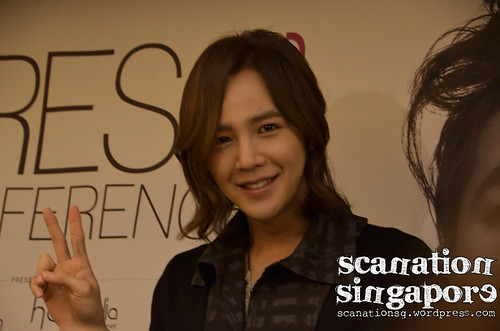 2011 Jang Keun Suk Fan Meeting in Singapore Press Conference
