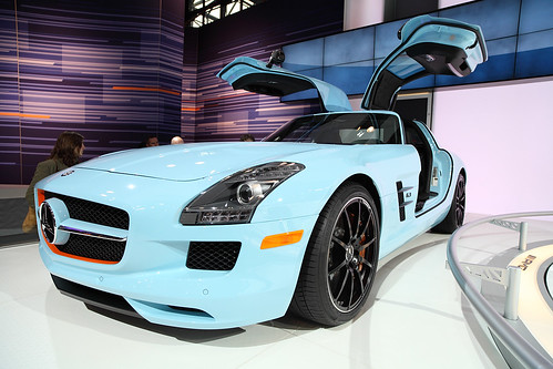 2011 Mercedes SLS AMG Gull Wing