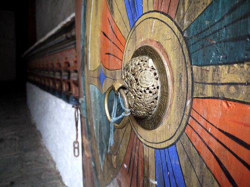 Door to Trongsa Dzong
