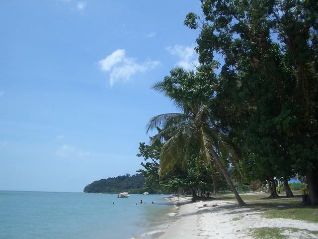 Pulau Besar beach