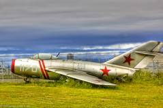 North Korean MiG-15 (Stephen Lee Carr) Tags: california sky clouds plane canon vintage airplane eos rebel coast losangeles airport raw russia grunge airplanes jet gritty adobe lax soaring dogfight takeoff runway hdr jetfighter mig northkorea lightroom mig15 photomatix 550d t2i canonef100mmf28lisusmmacro