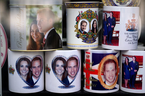 Royal Wedding Memorabilia by Tanya Nagar