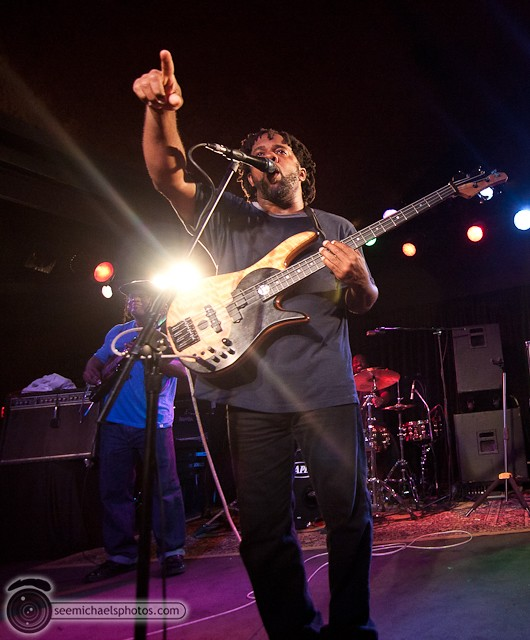 Victor Wooten at Belly Up 41811 © Michael Klayman-061