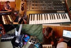 synth happiness (horsesqueezing) Tags: yamaha analogue synths pro1 kork vst tangerinedream soundtrackmonday
