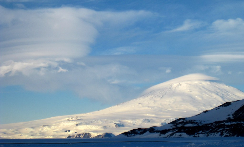 Antarctica: Mount Erebus from the Ice Ru by eliduke, on Flickr