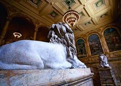 Boston Public Library - The McKim building (Jeff_B.) Tags: boston architecture library statues grand lions granite bostonpubliclibrary copley publiclibrary bpl
