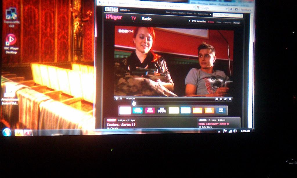 BBC iPlayer:  live TV (bbc one)