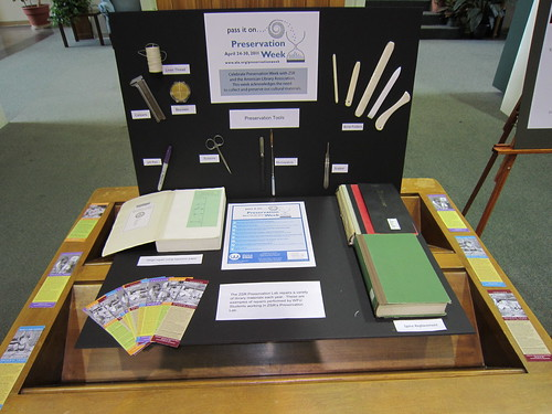 Preservation Week Display