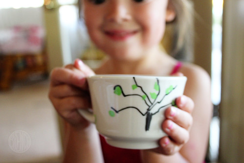 a tree cup for Mother's Day