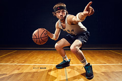 117/365 Billy Baller (matthewcoughlin) Tags: basketball goggles bball gym softbox wristband flasher basketballcourt headband ballin eyewear skillz speedlite offcameraflash roundball hegotgame strobist 430exii 3652011 2011inphotos