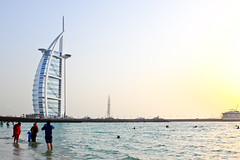 Burj al Arab, Dubai (Scott Norsworthy) Tags: architecture hotel al dubai gulf united uae emirates arab sail arabian luxury 7star burj