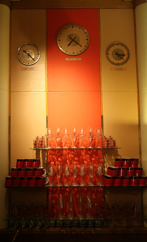 Queen Mary - Former Radio Telephone Room - Original Clocks