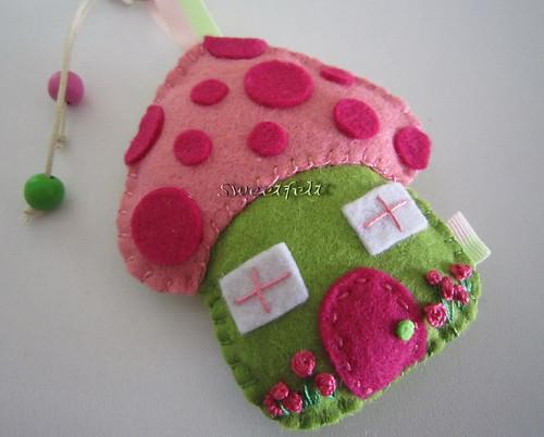 ♥♥♥ Vamos brincar às casinhas? by sweetfelt \ ideias em feltro