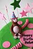 IMG_4831 (dougschneiderphoto) Tags: birthday pink green cake stars monkey names fondant buttercream gumpaste sarabakescakes