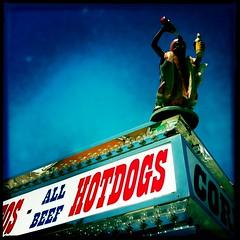 Helpful Hot Dog by Jason Willis