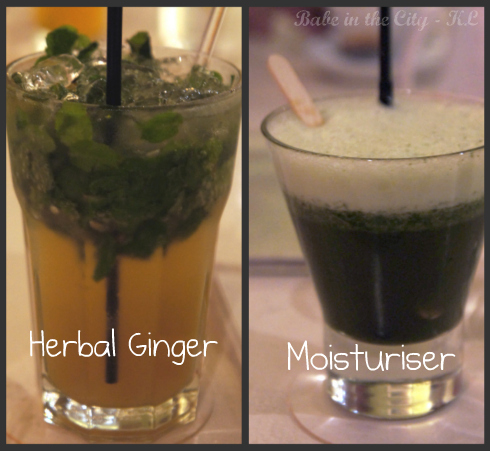 Herbal Ginger (RM10) & Moisturiser (RM8)