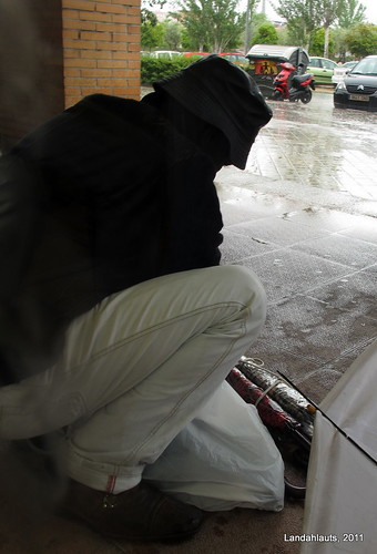 El vendedor de paraguas