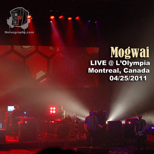 Mogwai - Noisography LIVE Concert Series Album Artwork
