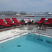 Pool and deck onboard l'Boreal