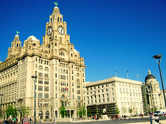 The Royal Liver Buildings (ScouseTiegan) Tags: heritage liverpool threegraces liver pierhead merseyside scouser scouse youngphotographer theliverbuildings chdk theroyalliverbuilding a480 theliverbirds scousetiegan tieganneary