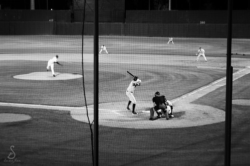 Baseball in Black & White