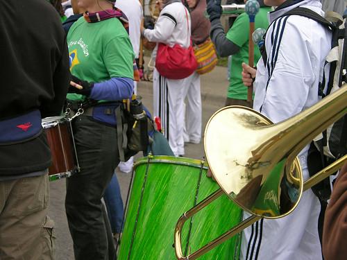 MayDay 2011 trombone & drum