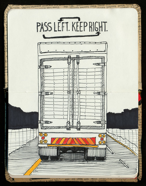Pass Right Keep Left