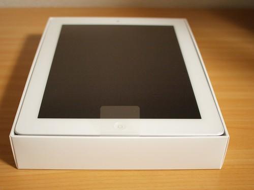 iPad2箱の中