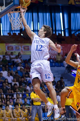 2011 FilOil Flying V Preseason Tournament: Ateneo Blue Eagles vs. UST Growling Tigers, April 30