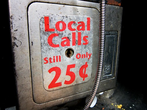 Local Calls Still Only 25 Cents