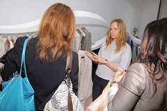 Stella McCartney And Liv Tyler At Saks Fifth Avenue
