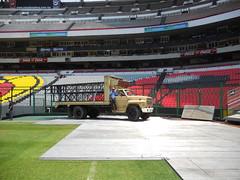 Cuarto día de montaje - Estadio Azteca 33